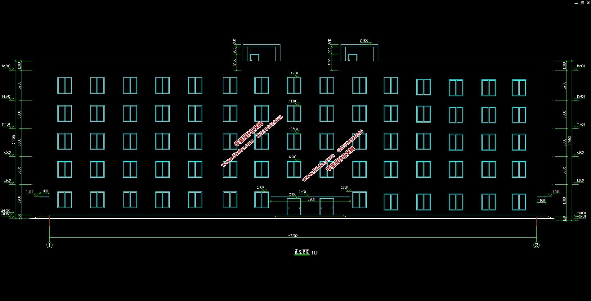 建筑总平面防火设计课程设计任务书
